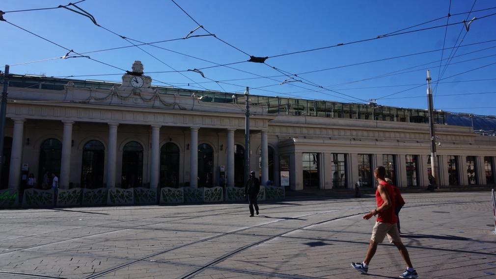 01 Gare St Roch et sa façade Trianon classée