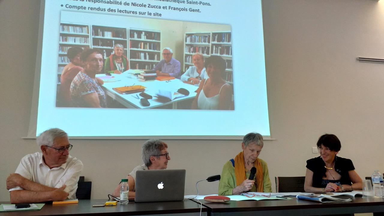 02 Nicole Zucca présente le Comité de lecture