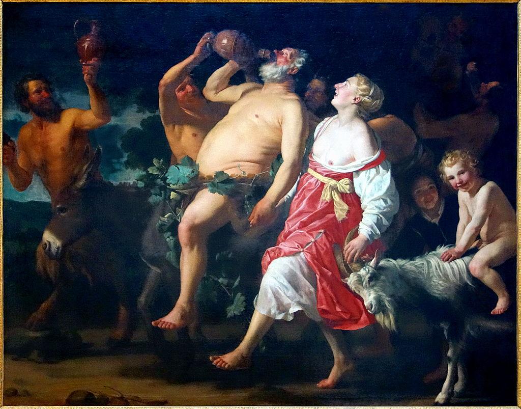 03 le triomphe de Silène, Gerrit Van Honthorst, 1323, Palais Beaux Arts Lille