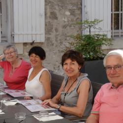 03 claudine, Élisabeth, Danielle et François