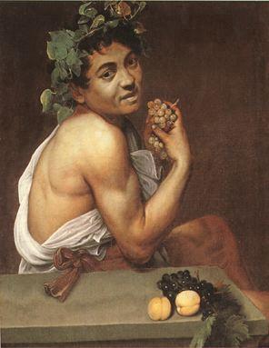 07 Bacchus malade, auto portrait Caravage, Rome Galerie Borghese
