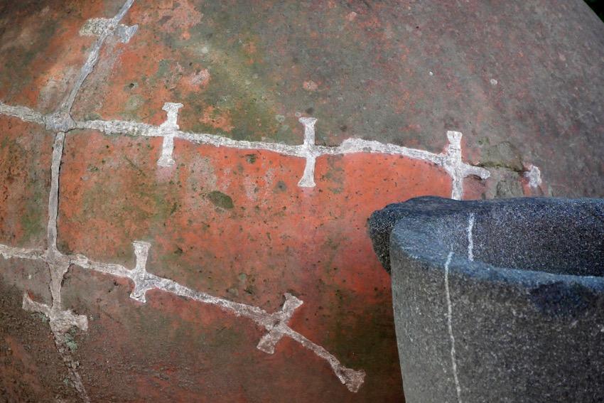 11a amphithe a tre de pouzzoles re paration sur amphore
