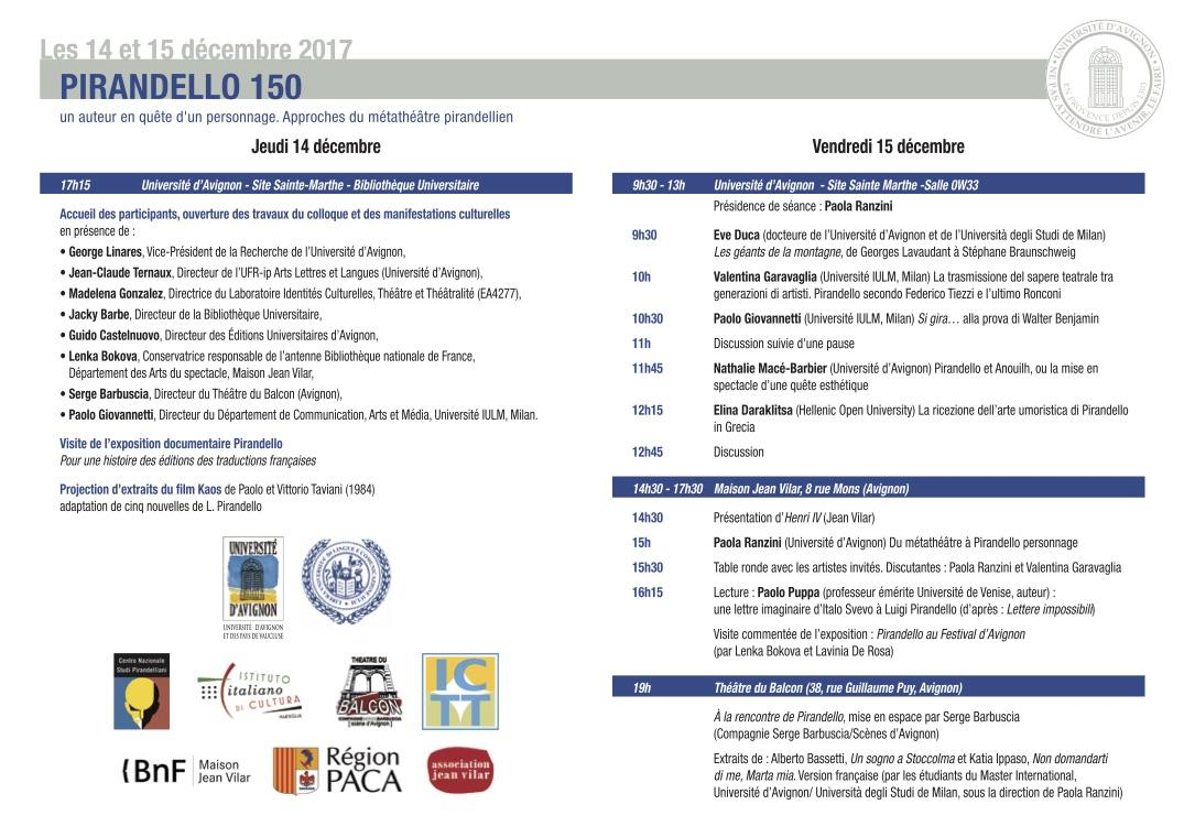 14 15 dec colloque pirandello programme n copie 2