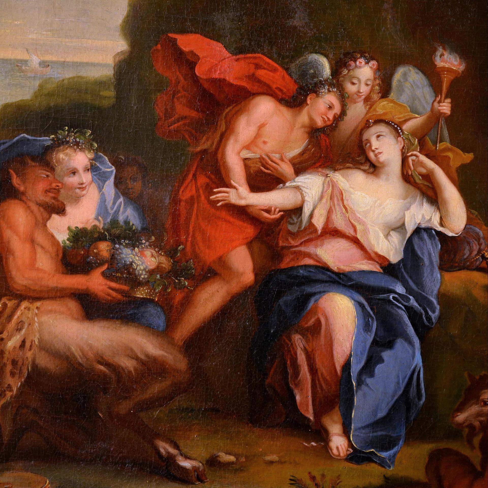 14 Ariane et Bacchus, Antoine Coypel, XVIIIe s