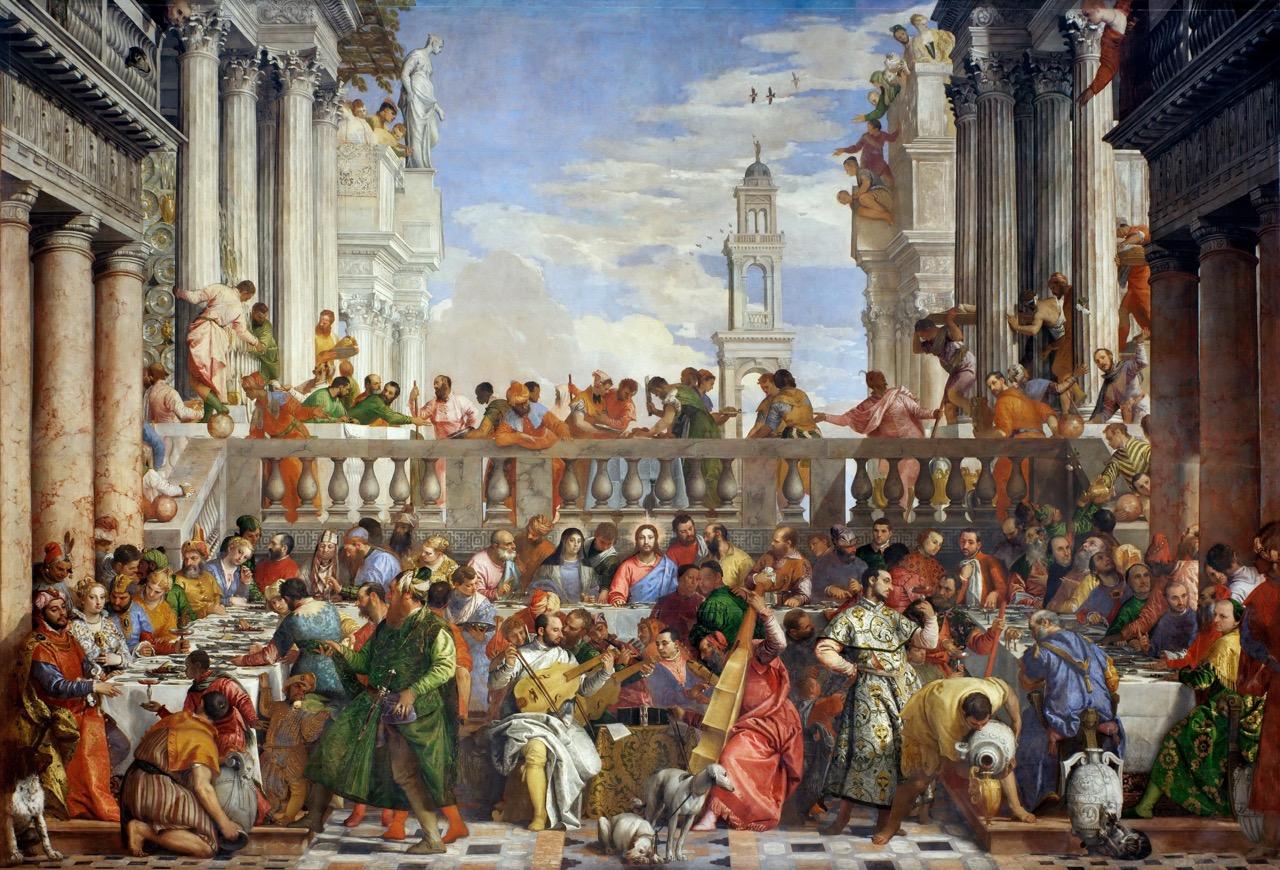 20 les noces de Cana, Véronèse, 1562, Le Louvre