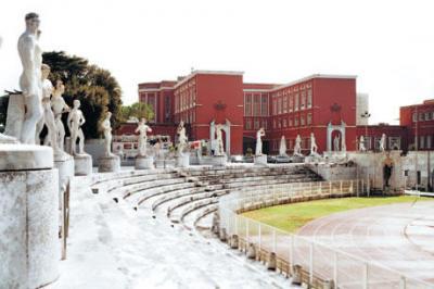 31 le stadio dei marmi au foro italico enrico del debbio et corrado ricci 1928 1935 reportage photo davide monteleone contrasto 78175p60 883 rome3