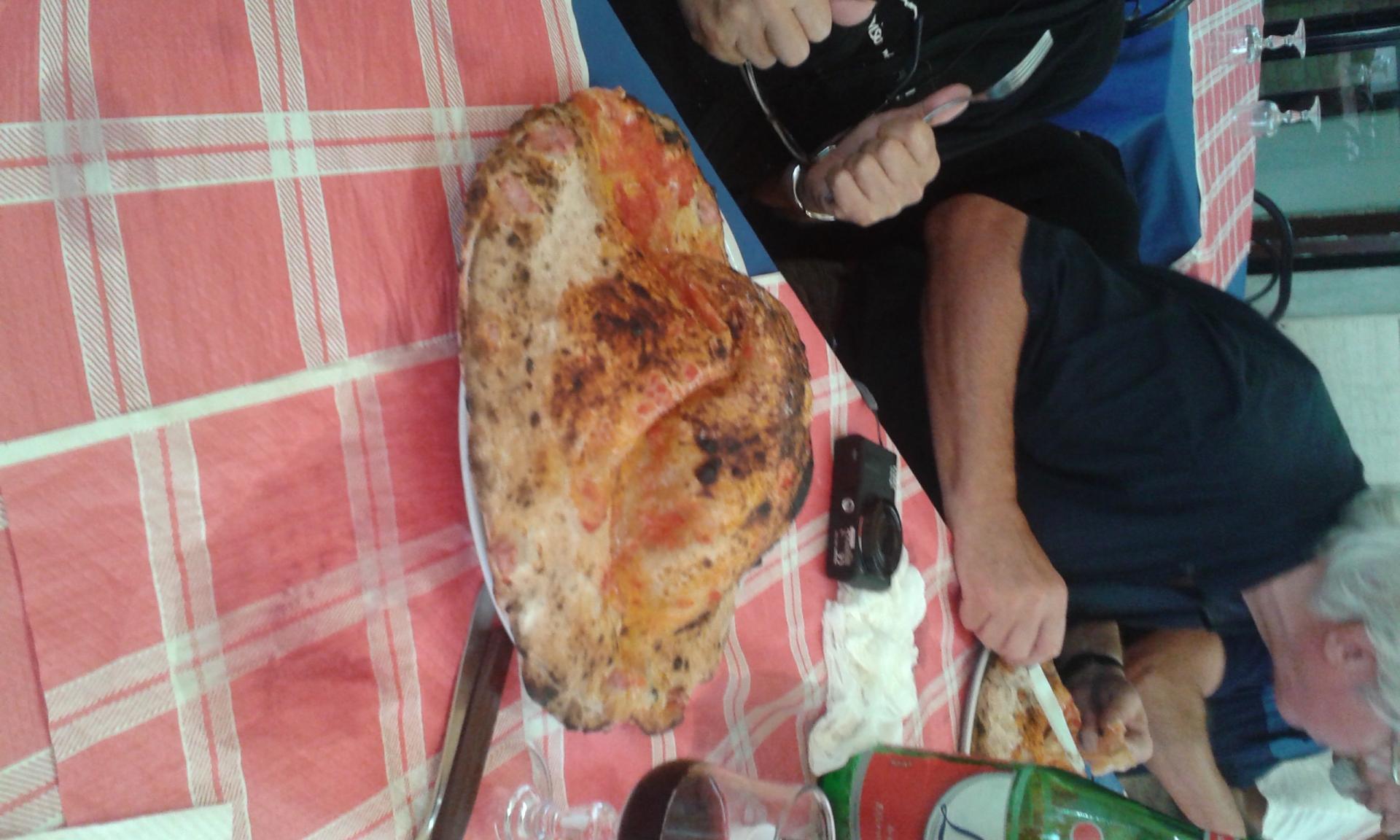 6 pizza vesuvio