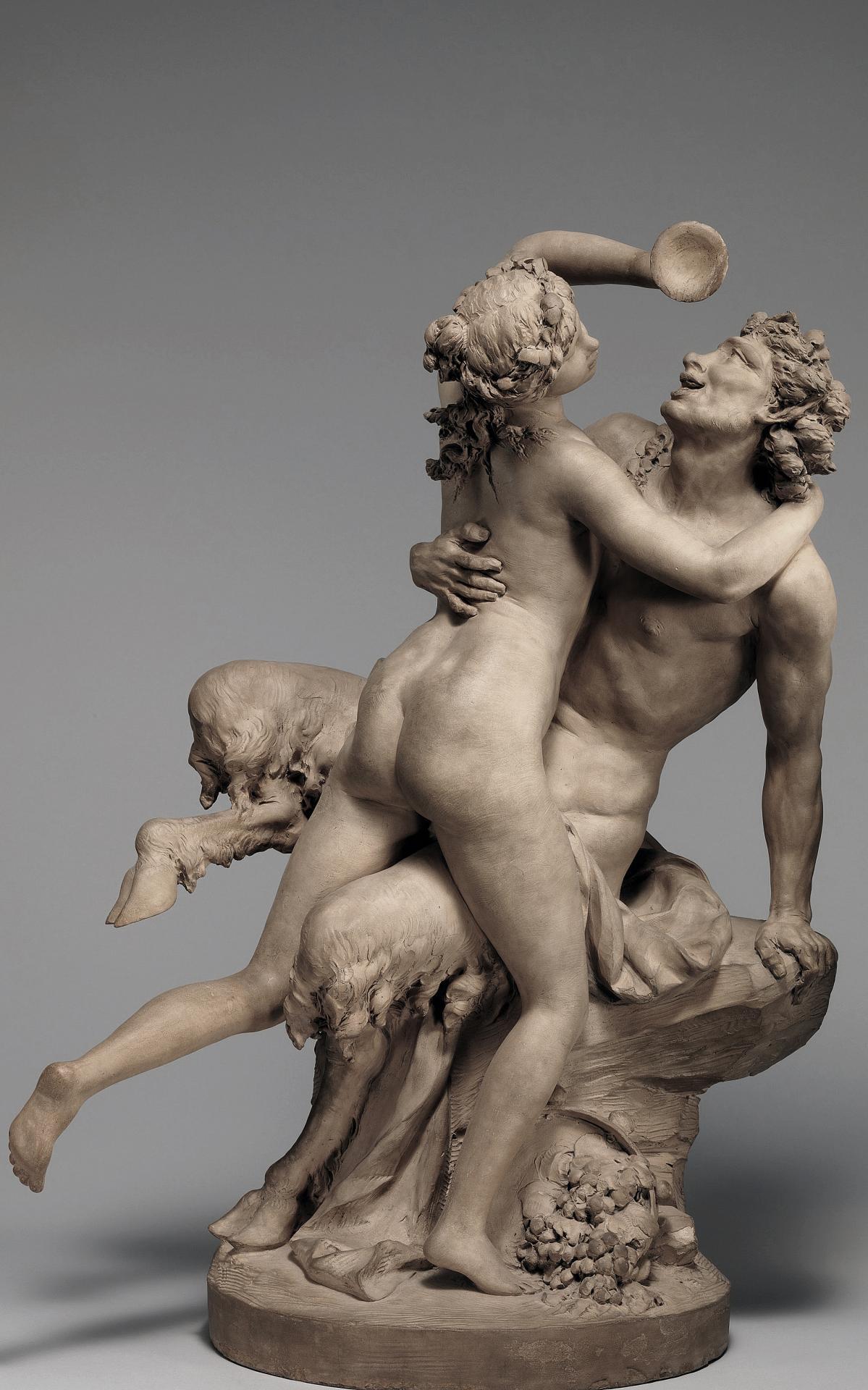 09 L'ivresse du vin , Claude Michel Clodion, 1780, Metropolitan New York