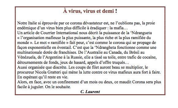 A virus virus et demi copie