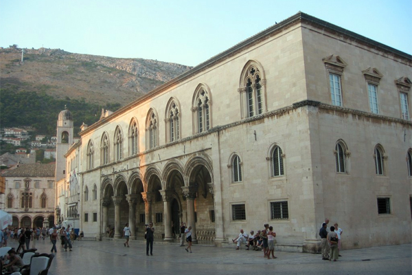Dubrovnik palais du recteur