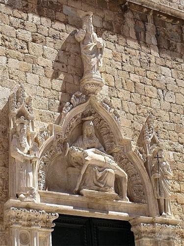 Dubrovnik Pieta monastère des Franciscains