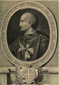 Gravure de fra gerard fondateur grav laurent cars 1725