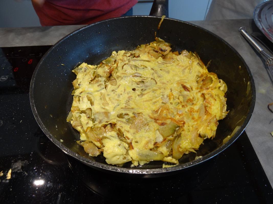 7f omelette artichauts