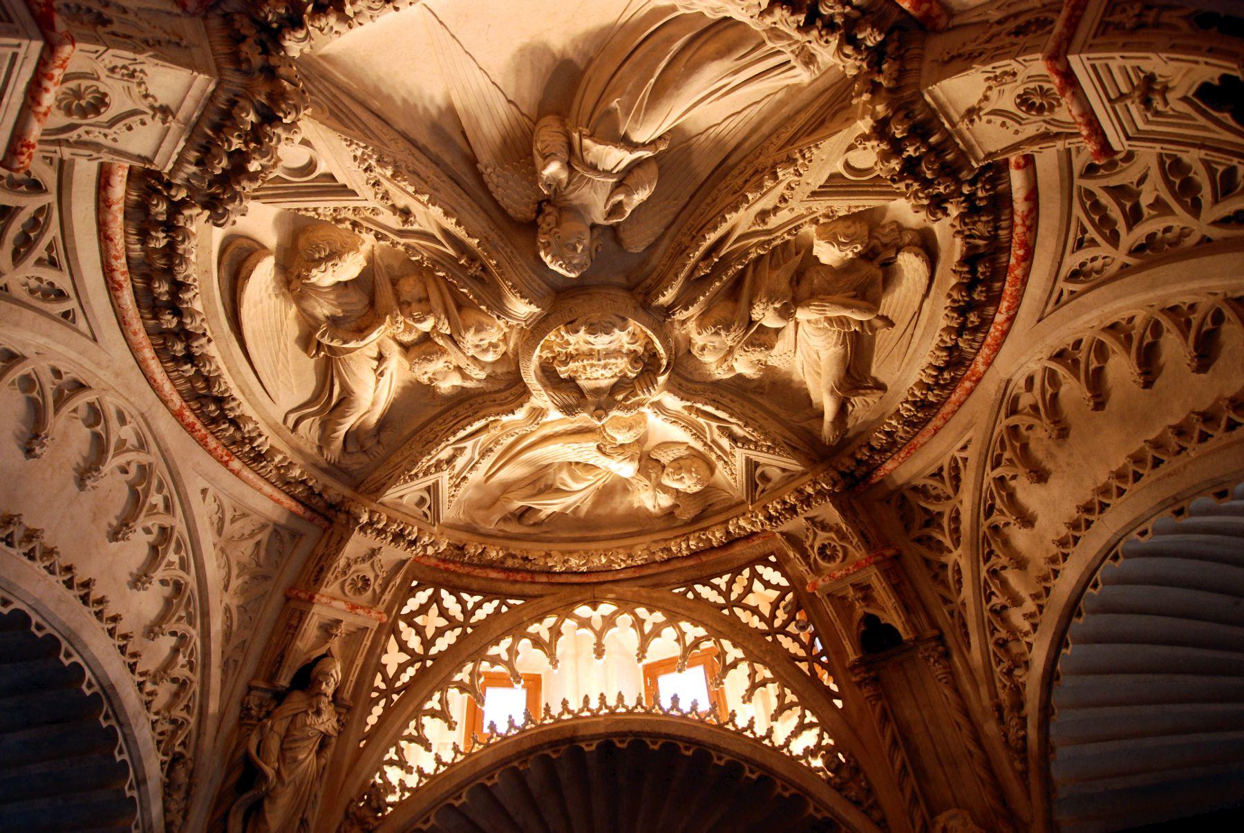 Šibenik plafond du baptistère